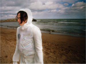 Still from video art by Sabine Gruffat