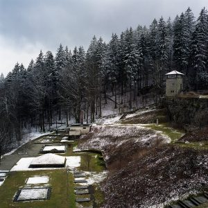 Art photograph of Valley of Death Flossenbuerg Memorial and Museum