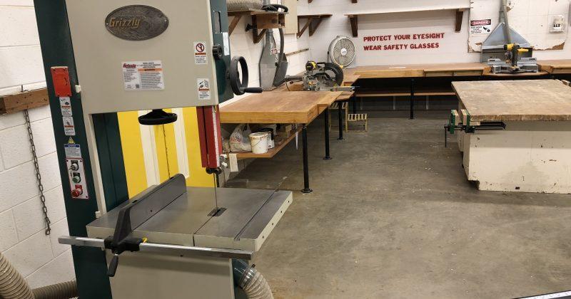 Wood Shop Art Department