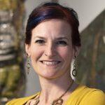 Portrait bust photograph of Amanda Maples