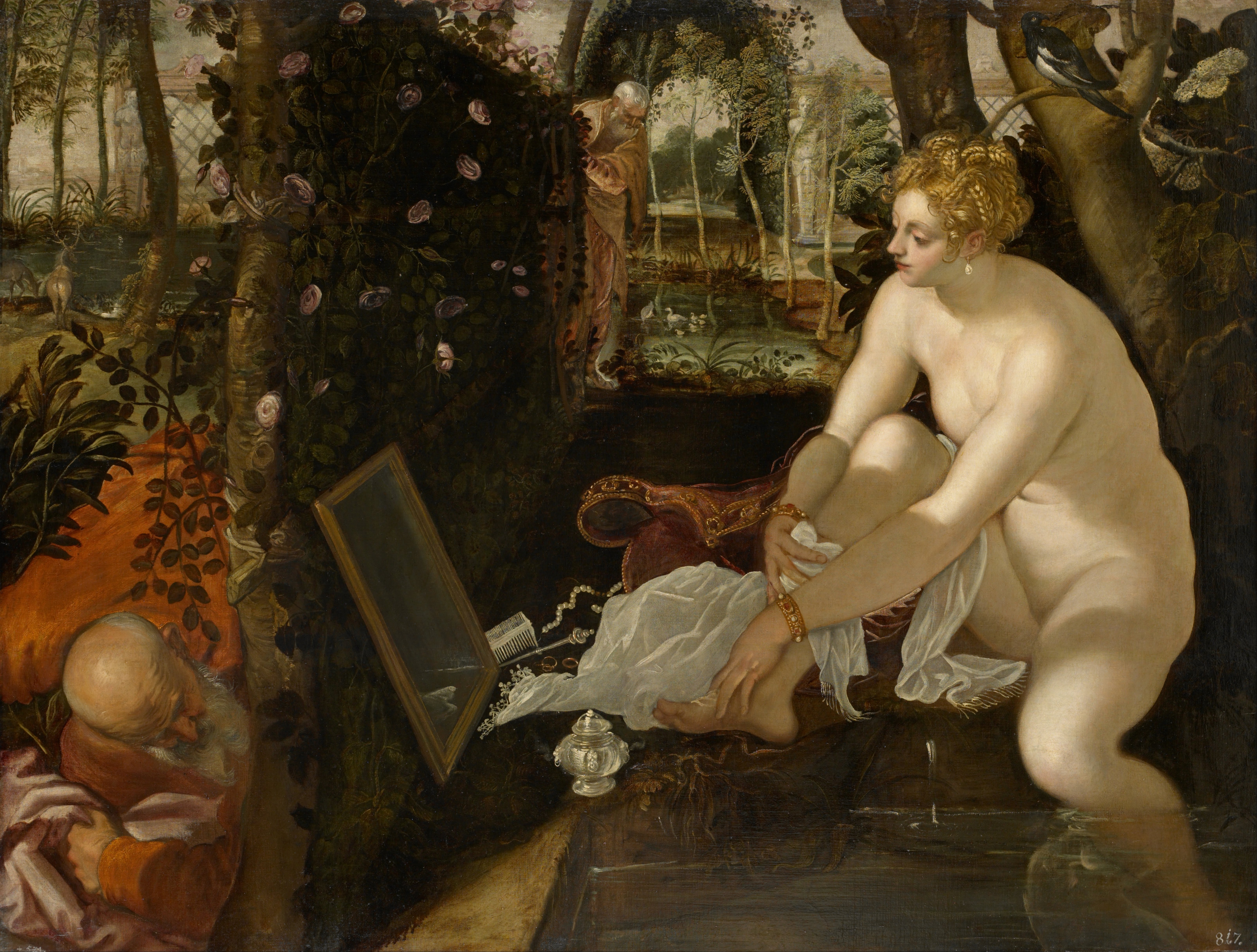 Tintoretto, Susanna and the Elders, 1555-1556