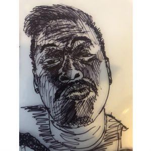 Raj Bunnag, Self-Portrait