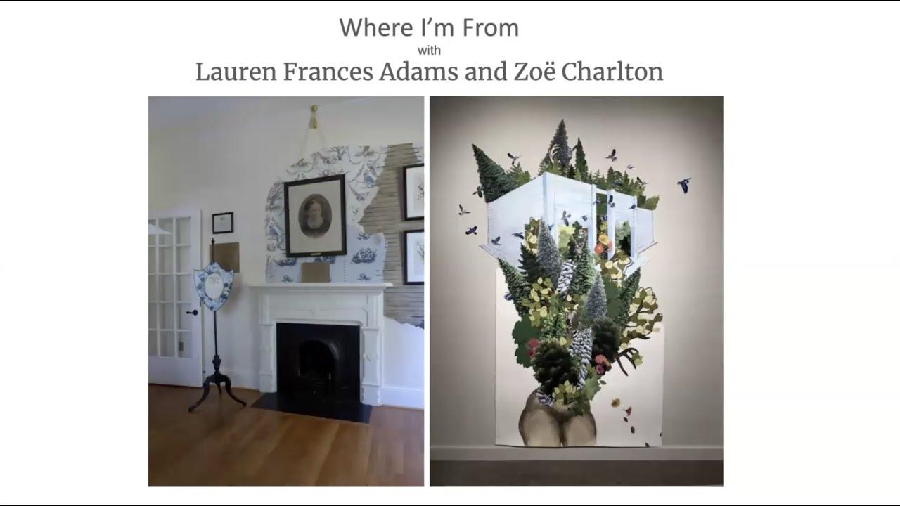 Hanes Visiting Artist Lecture Series: Laruen Frances Adams and Zoe Charlton, Oct 8, 2020