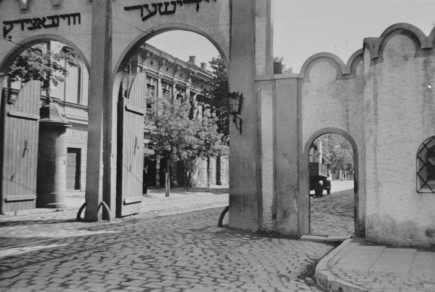 Entrance to the Krakow Ghetto