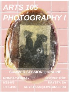 Flyer for Summer Session Course ARTS 105