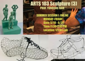 Flyer for 2021 Summer Session Course ARTS 103