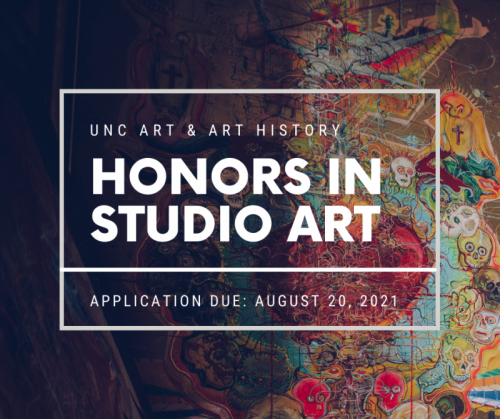 UNC Honors in Studio Art